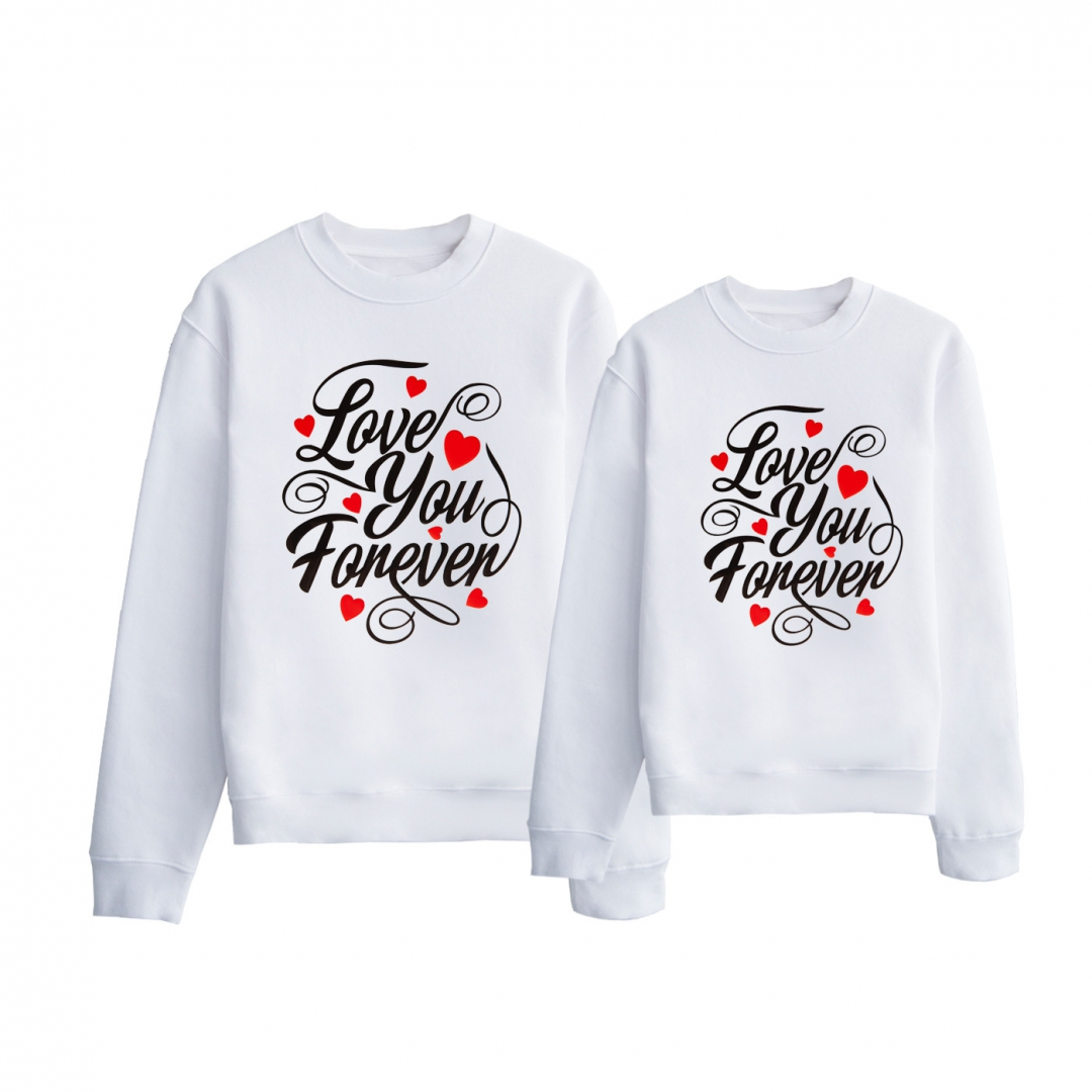 SUDADERA LOVE YOU FOREVER