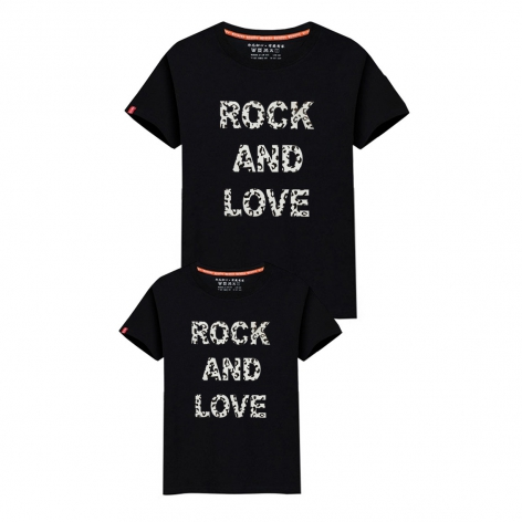 CAMISETA ROCK AND LOVE