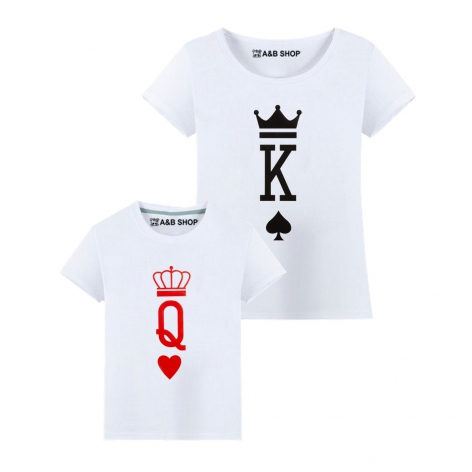 Camiseta King-Queen