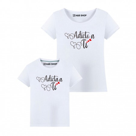 T-SHIRT ADDICTED / ADDICTED TO YOU
