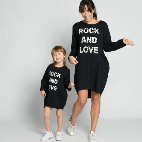 Vestido Rock and  Love bolsillos