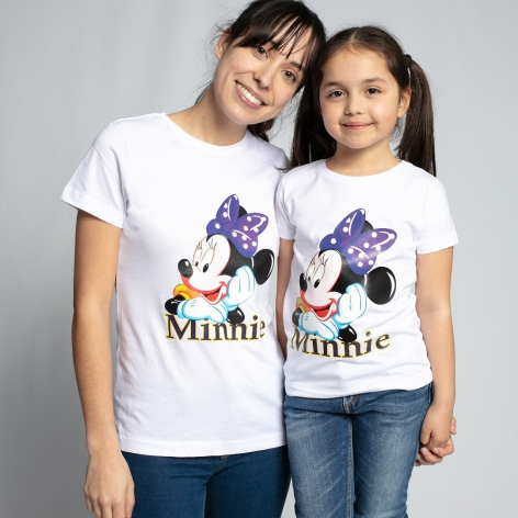 CAMISETA MINNIE PRESUMIDA