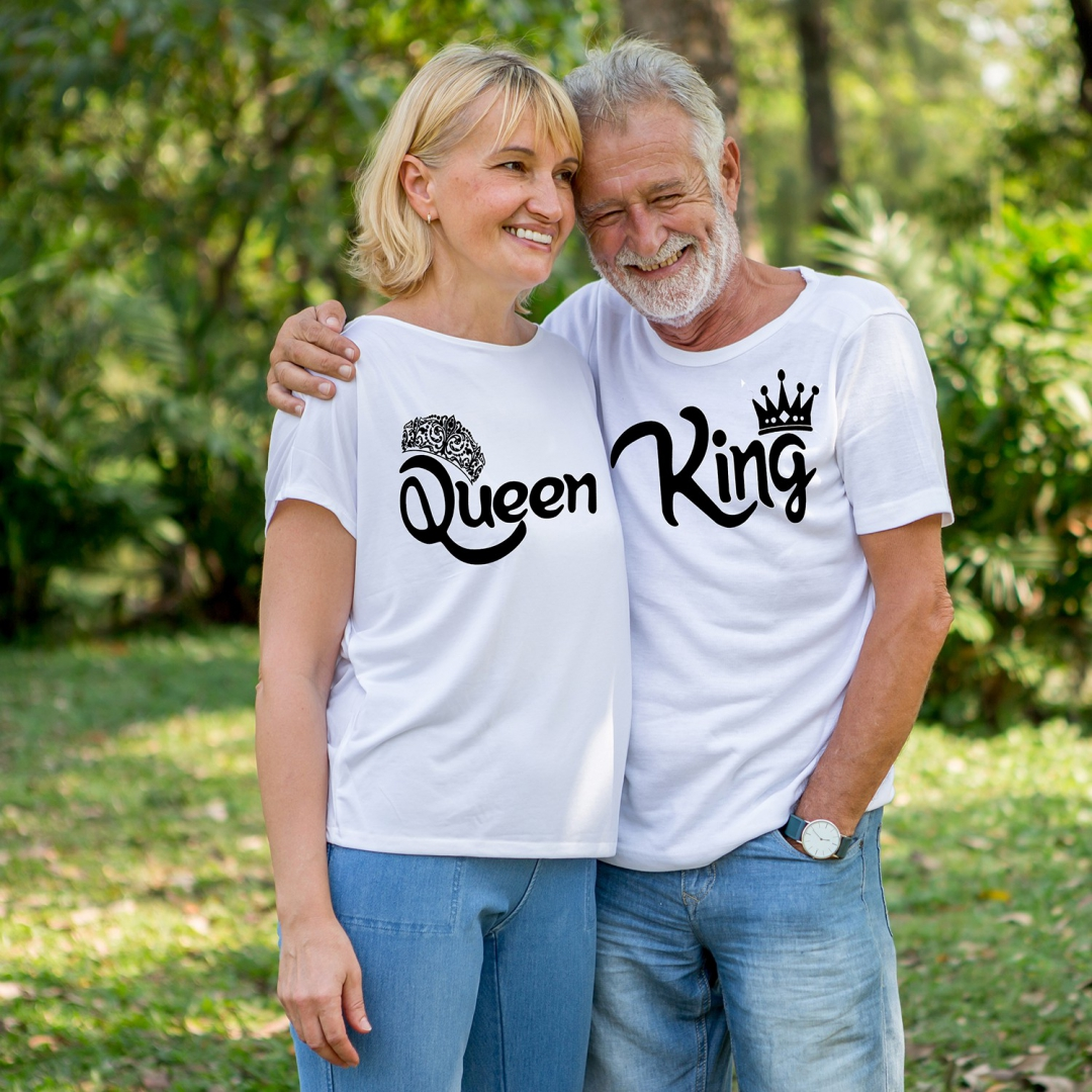 Camiseta top Queen-king-princess-prince