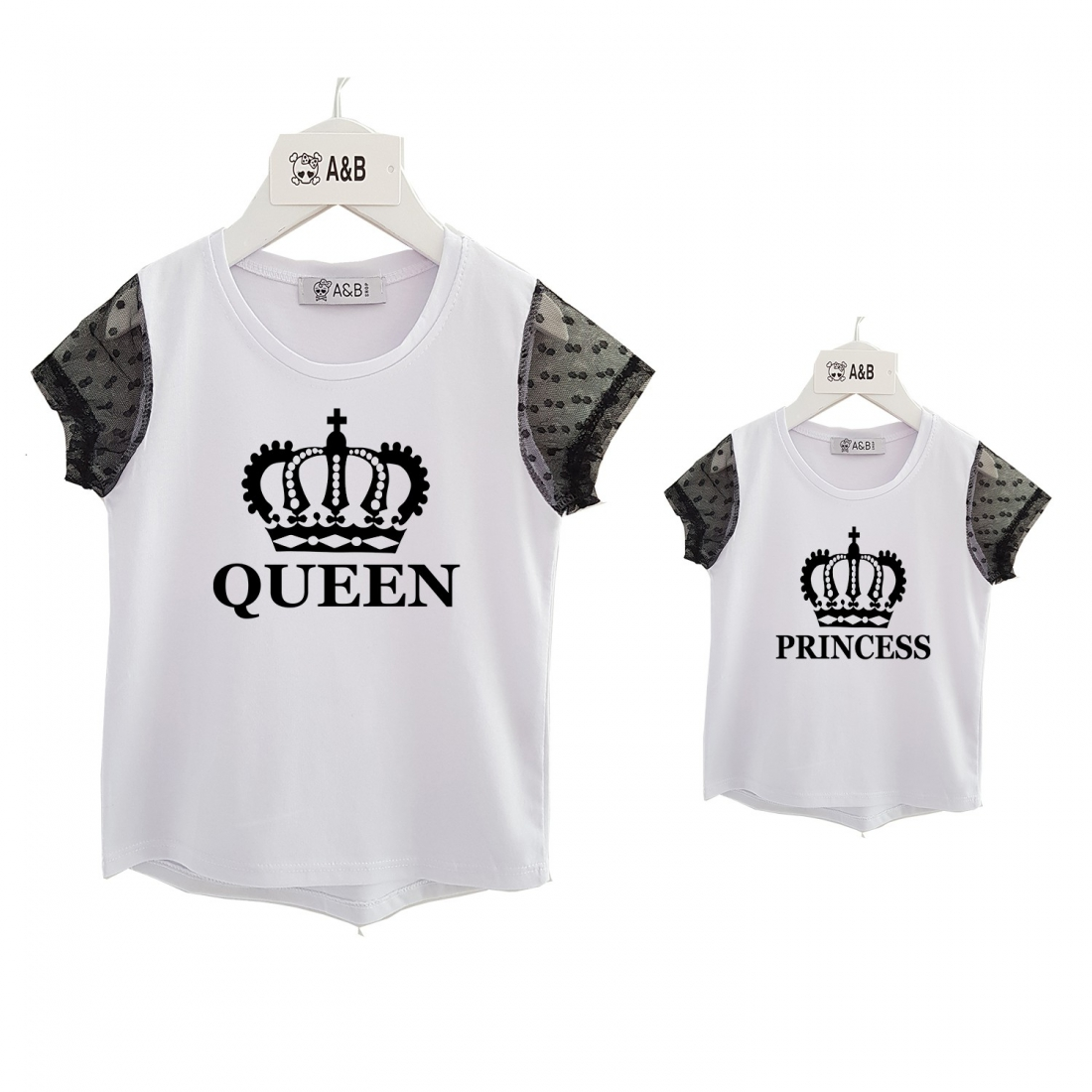 Tulle chic t-shirt