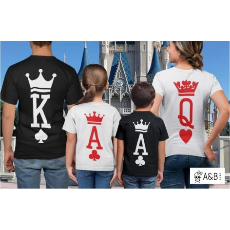 Camiseta Royal Flush