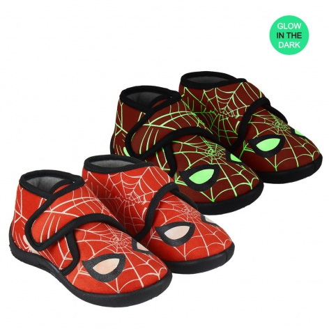 Spiderman light slippers