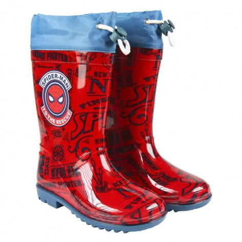 Botas lluvia Spiderman
