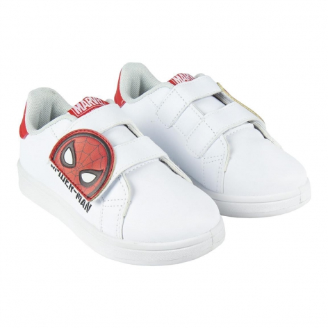 White Spiderman sneakers