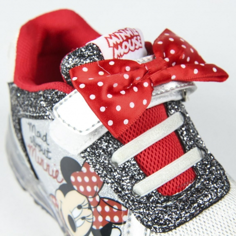 Light trainers Minnie bow