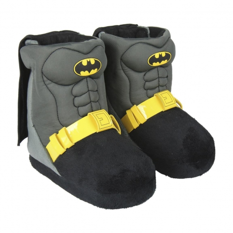 Batman boot slippers
