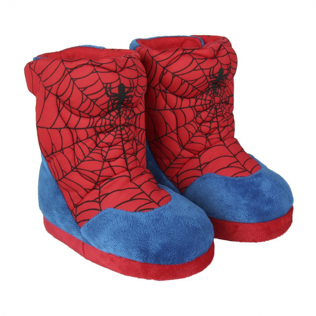 Spiderman boot slippers