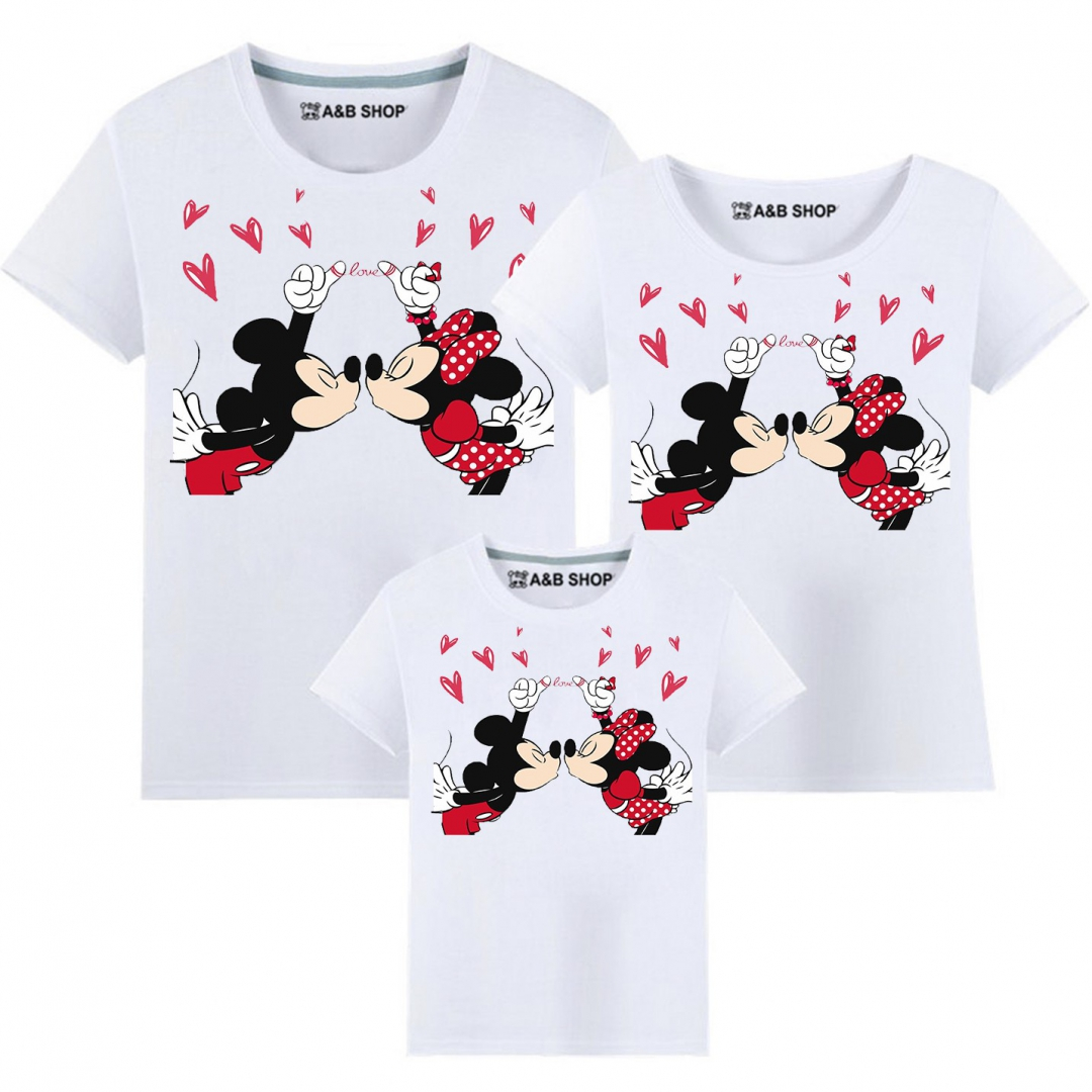 Minnie Love Mickey T-shirt
