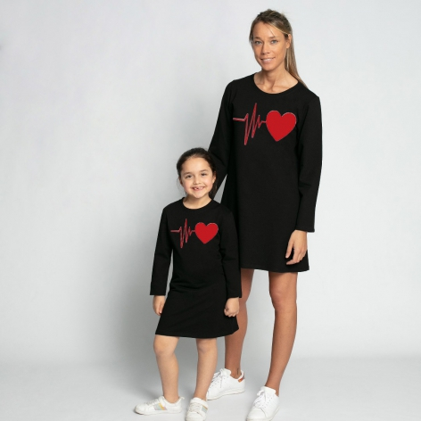Basic heartbeat dress