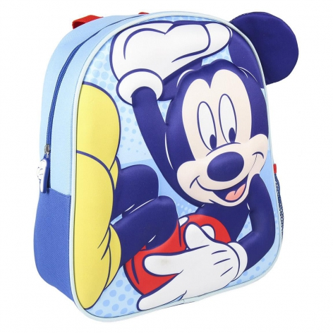Mickey 3D blue backpack