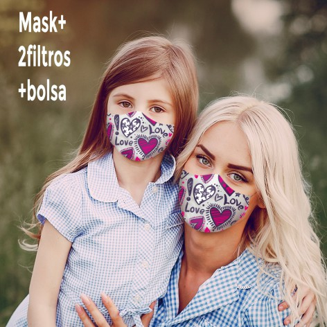 Mascarilla Love Is Love