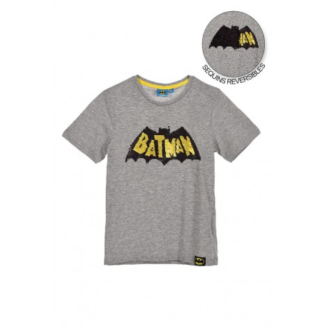 Batman T-shirt with sequins...