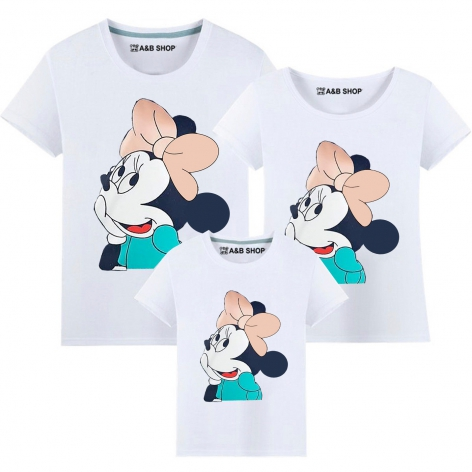 Camiseta Minnie adorable