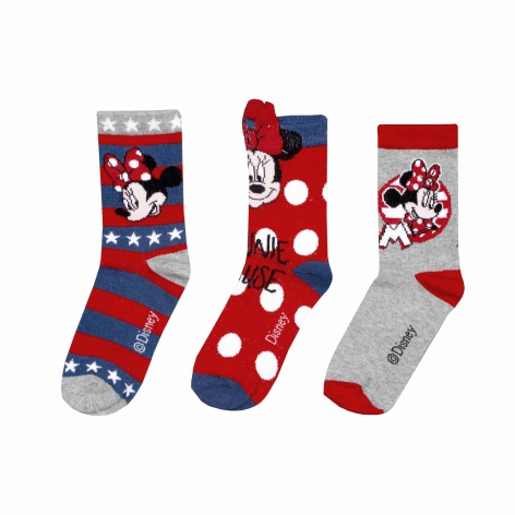 Minnie Happy socks pack