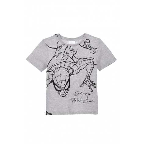 Gray Spiderman T-shirt