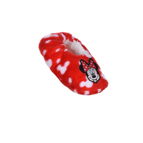 Red Minnie slippers