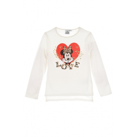 Minnie love print t-shirt