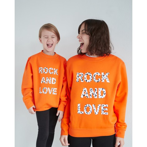 SUDADERA ROCK AND LOVE