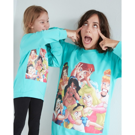 Aquamarine princess sweatshirt