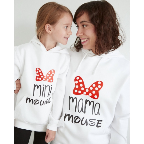 Premium hoodie mama mouse...