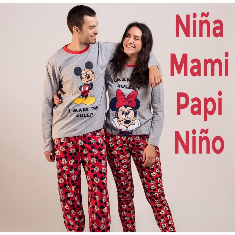 Minnie-mickey glasses pajamas