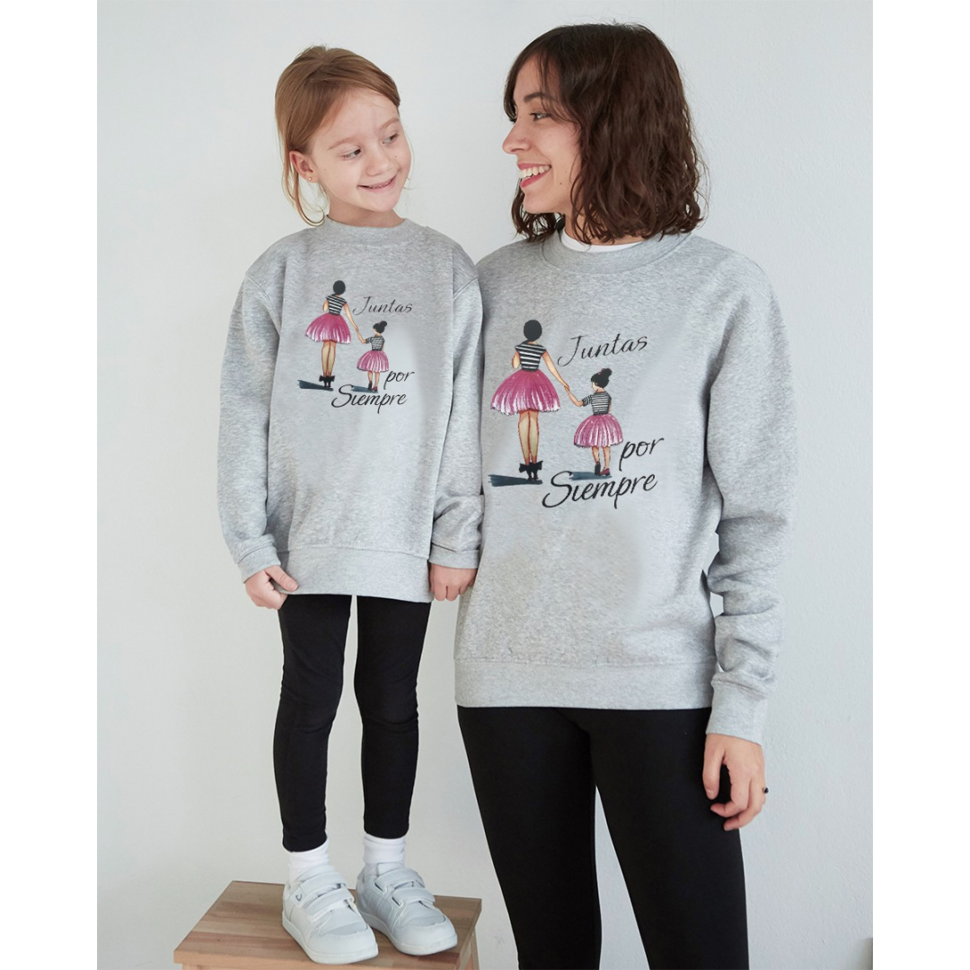 Together forever gray sweatshirt