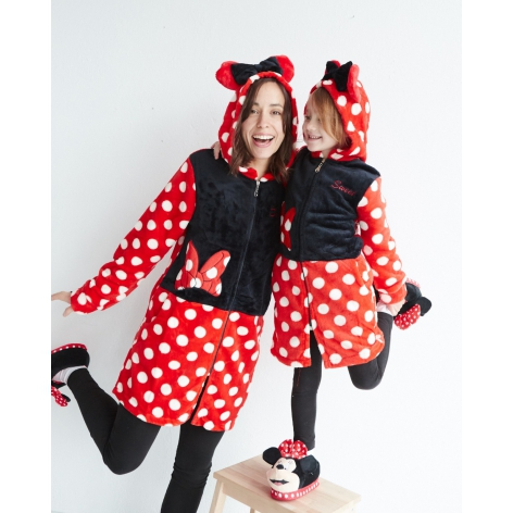 Minnie Sweet hooded robe