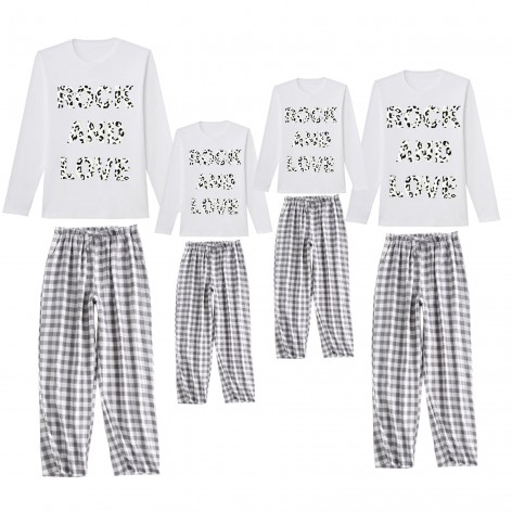 Rock and Love pajamas white...