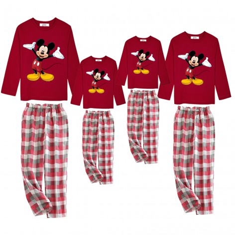 Mickey Hello pajamas red...