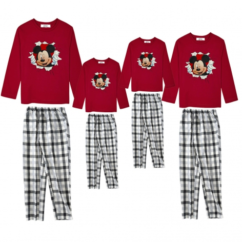 Mickey Surprise pajamas red...