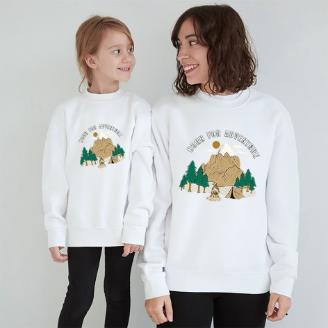 Born for adventure sweatshirt