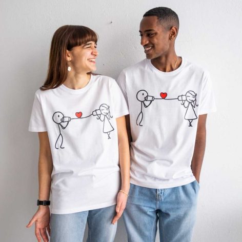 Phone love T-shirt