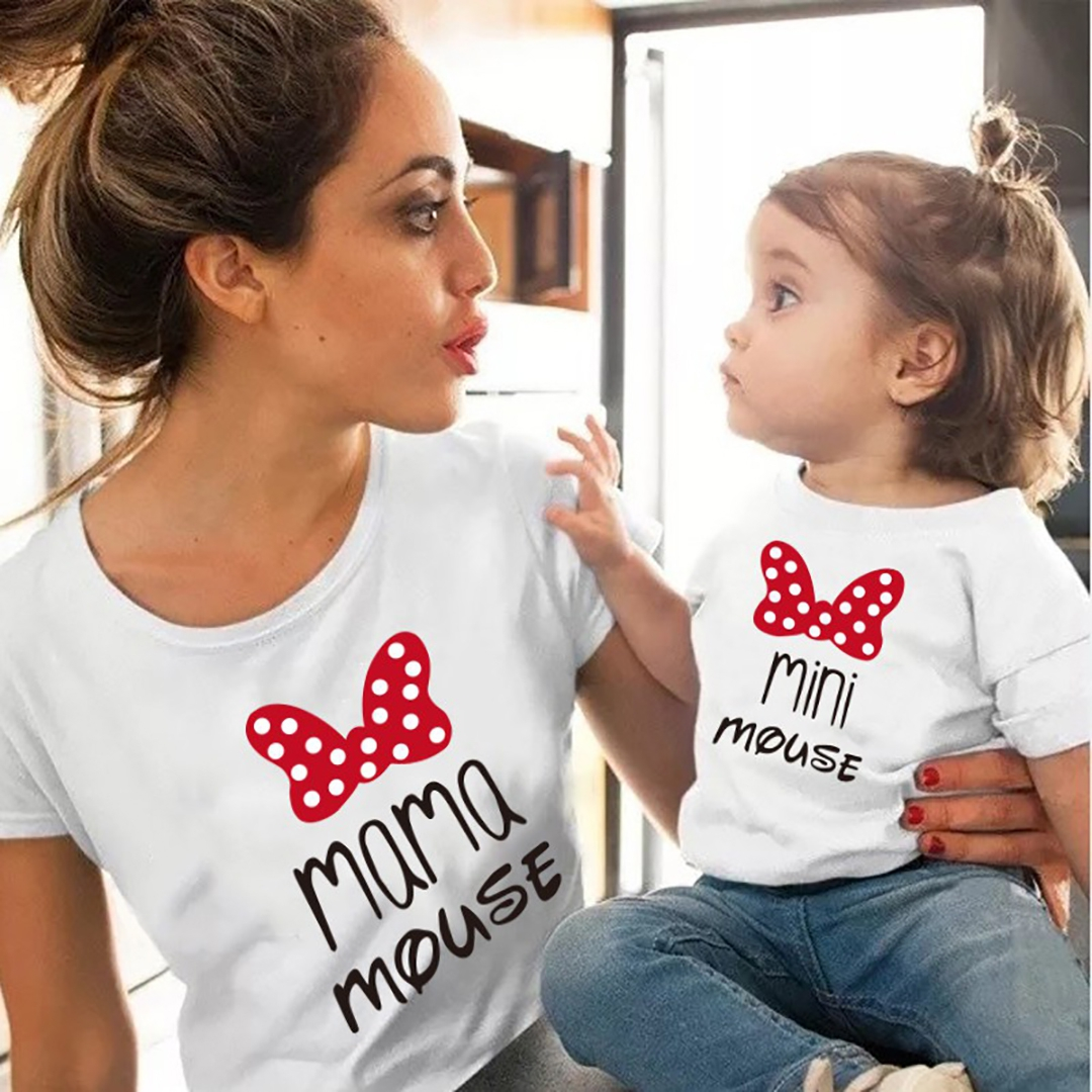 Mama mouse minnie mouse t-shirt
