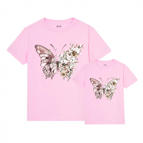 Butterflies flowers T-shirt