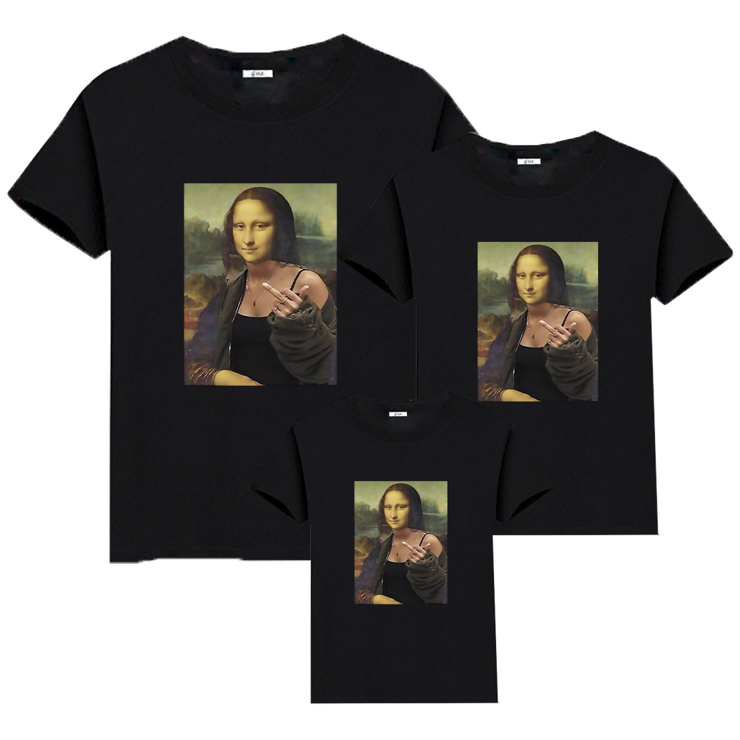 Rebel Mona Lisa T-shirt