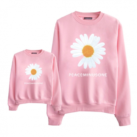 Daisy flower sweatshirt