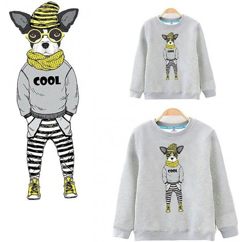 SWEATSHIRT COOL DOG