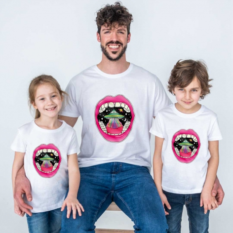 Mouth planet t-shirt