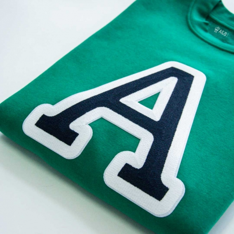 nitials Sweatshirt Green