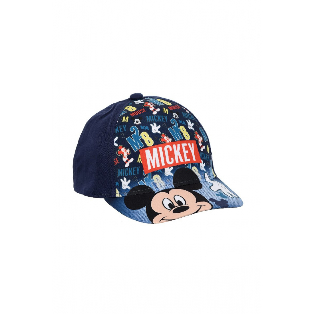 Mickey cap letters