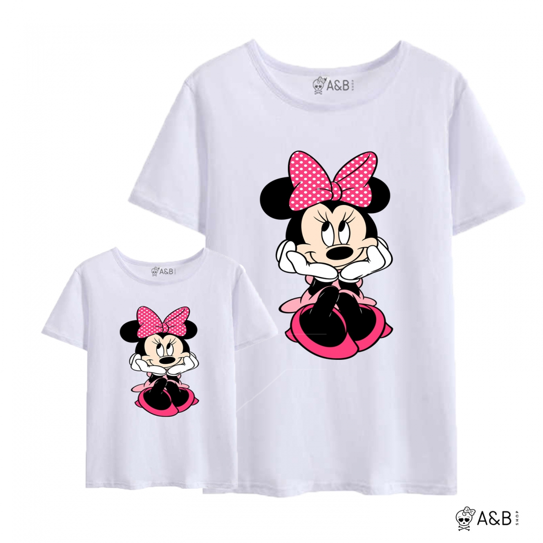 Minnie Mouse Pink bow T-shirt