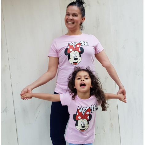 CAMISETA MINNIE MOUSE ROSA