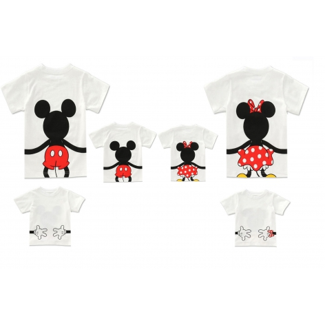 CAMISETA MINNIE-MICKEY