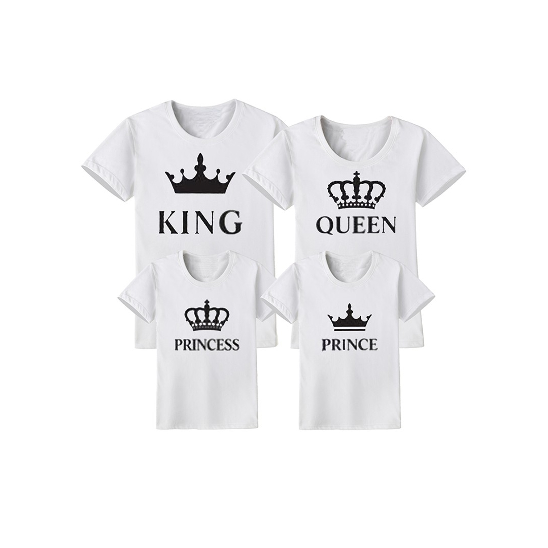 CAMISETA QUEEN-KING-PRINCESS-PRINCE BLANCA e9db6d4ab471f