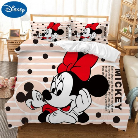 Funda Mickey-Minnie lazo