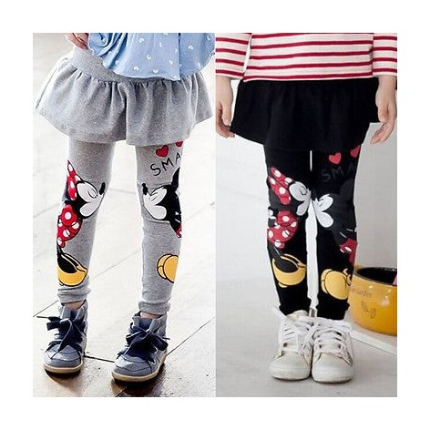 Mickey & Minnie legging skirt